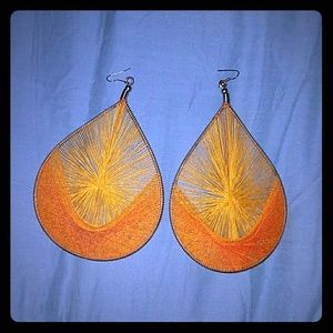 *Gorgeous, Woven, Dangle Earrings!*